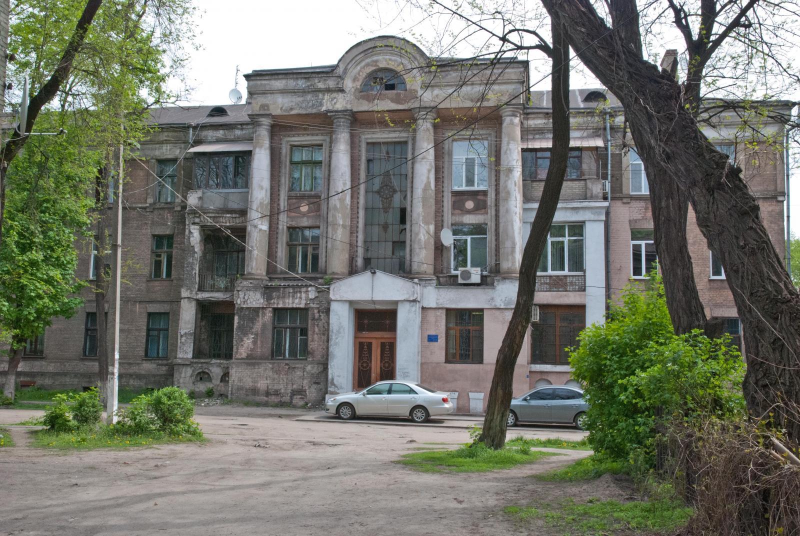 Фасад, второй подъезд