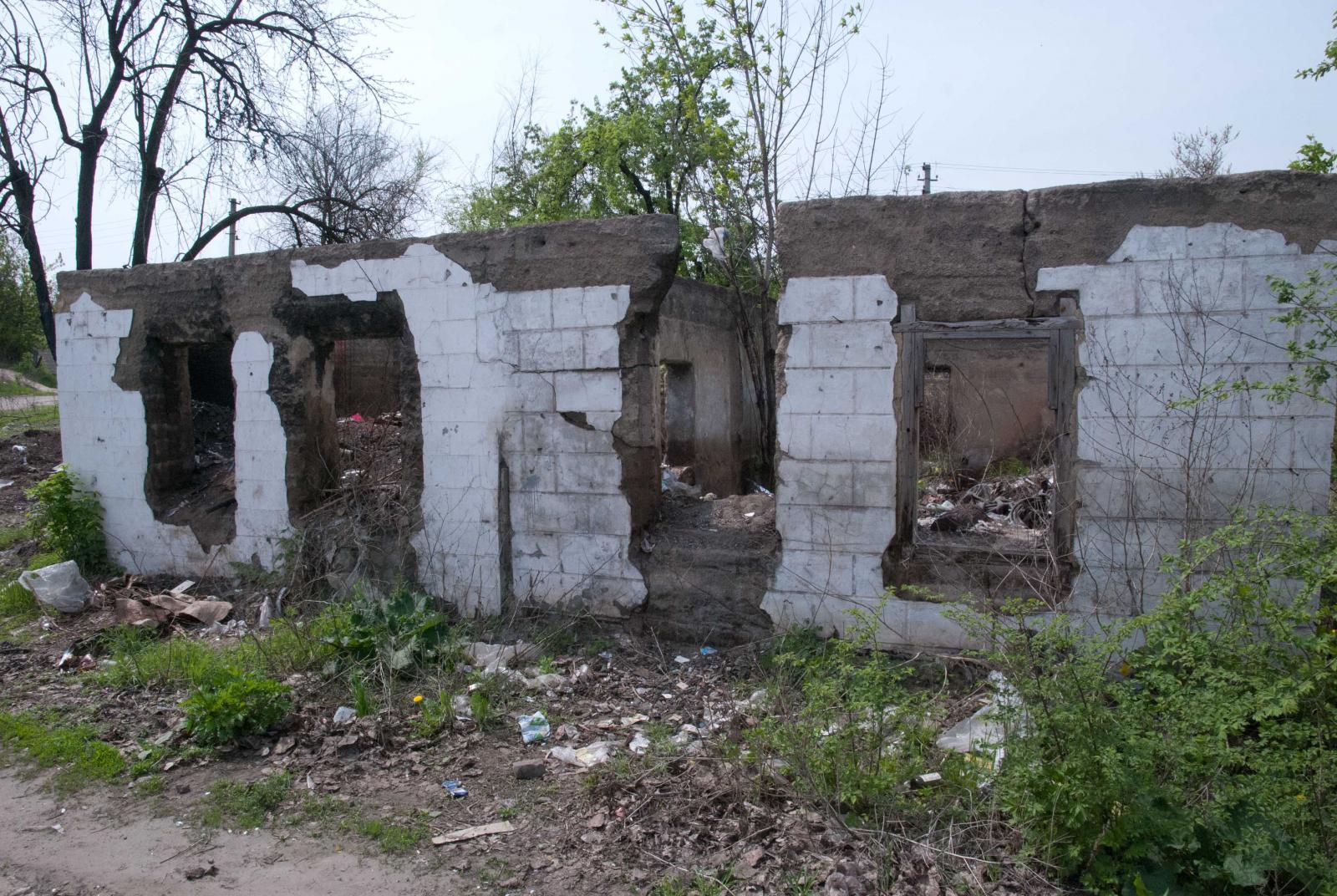 Очередные руины