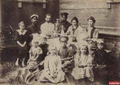 Семья лесничего Беловежской пущи