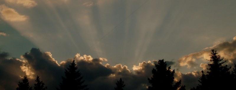 Небо над Днепродзержинском