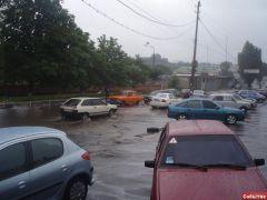 А вот дождик пошел сильнее