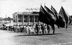 1956 г. Стадион Победа Днепродзержинск.