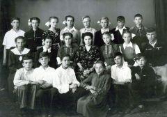 1955г. Выпуск 7а кл. 18й школы